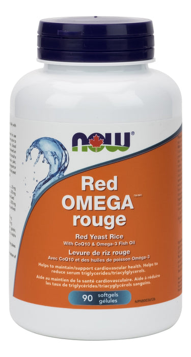 NOW Foods Red Omega with Red Yeast Rice
