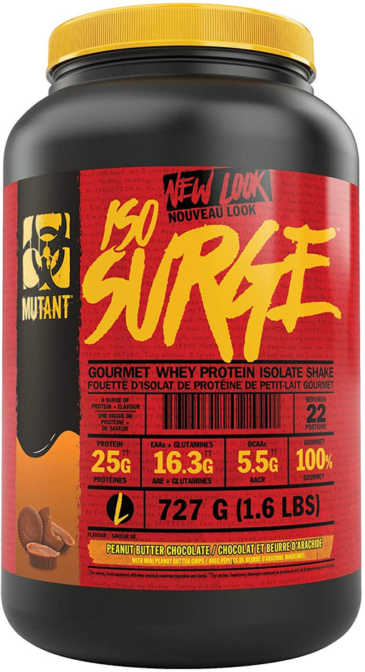 Mutant ISO SURGE 727 g - Peanut Butter Chocolate