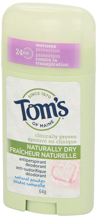 Tom's of Maine Antiperspirant Naturally Dry 64 g