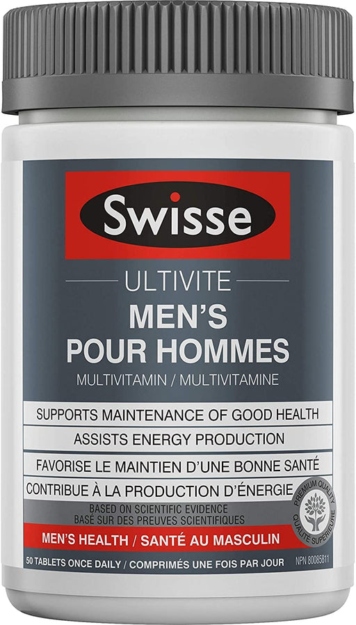 Swisse Men's Ultivite 50 Tabs