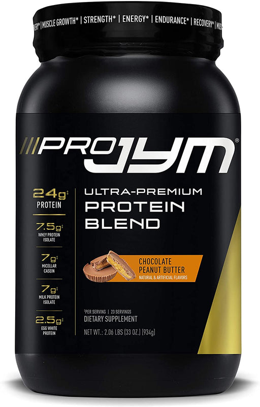 JYM® PRO JYM Protein Blend 2 lb- Chocolate Peanut Butter