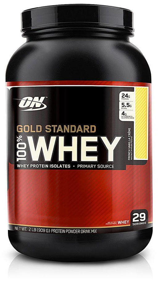 Optimum Nutrition Gold Standard 100% Whey French Vanilla Creme 2 lb
