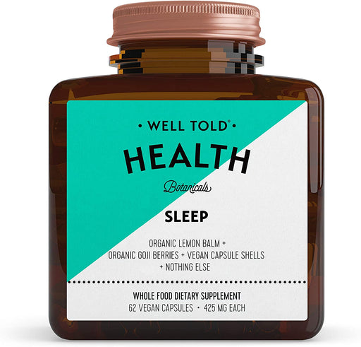 Well Told Health Sleep 425 mg 62 V-Caps