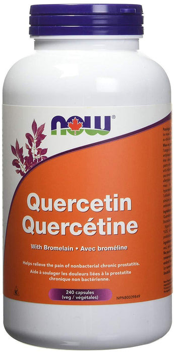 NOW Quercetin with Bromelain 240 Capsules