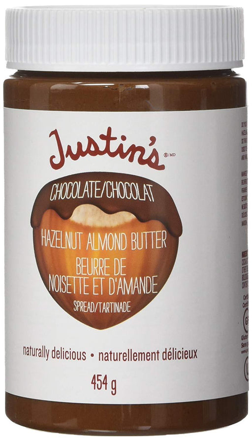 Justin's Chocolate Hazelnut Almond Butter 454 g