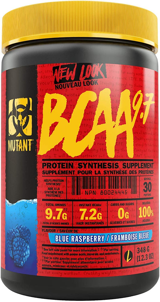 Mutant BCAA 9.7 348 g - Blue Raspberry