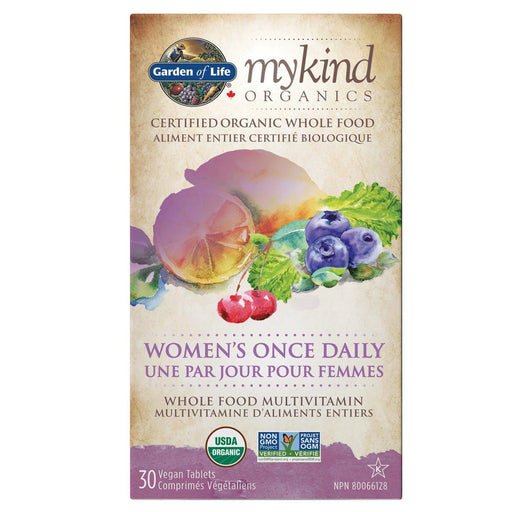 Garden of Life mykind Organics Women's Once Daily 30 Tablets