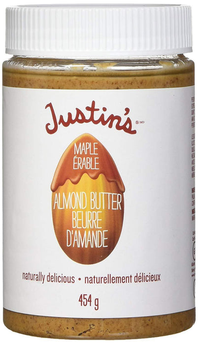Justin's Maple Almond Butter 454g (Short Dated)