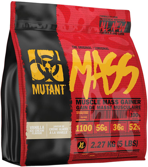 Mutant MASS 2.27 Kg - Vanilla Ice Cream