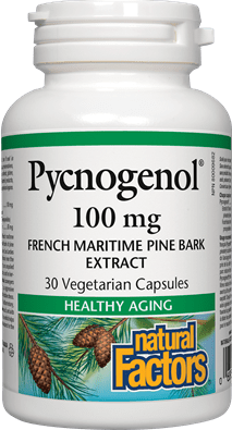 Natural Factors Pycnogenol 100mg