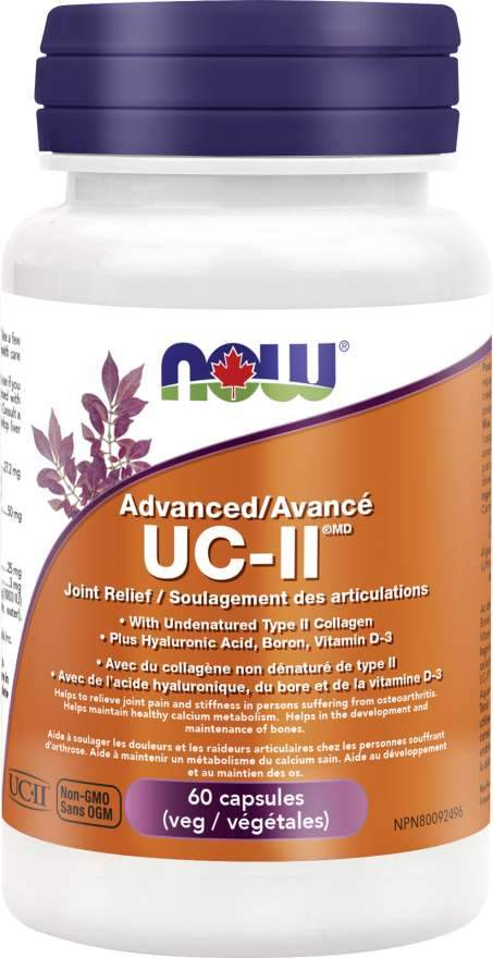 NOW UC-II Advanced Joint Relief 60 Capsules