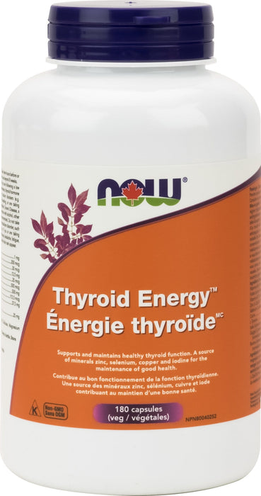 NOW Thyroid Energy 180 V-Caps