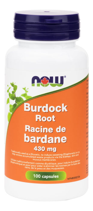 NOW Burdock Root 430mg 100cap