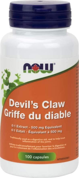 NOW Devil's Claw 100 Capsules