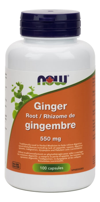 NOW Ginger Root 550mg