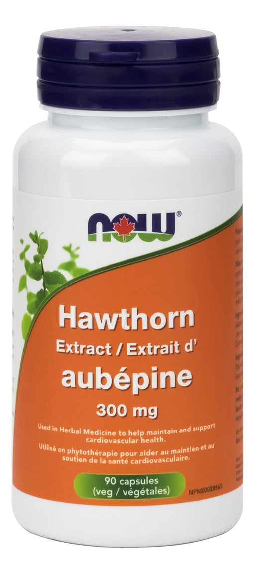 NOW Hawthorn Extract 300mg 1.8% Standardized