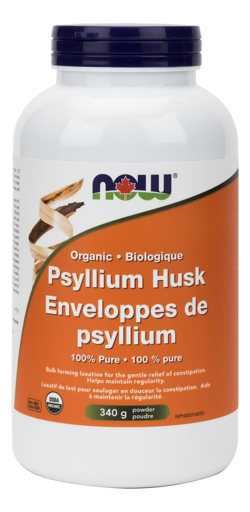 NOW Organic Psyllium Powder