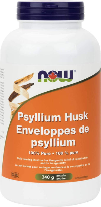 NOW Psyllium Husk Powder 340 Grams