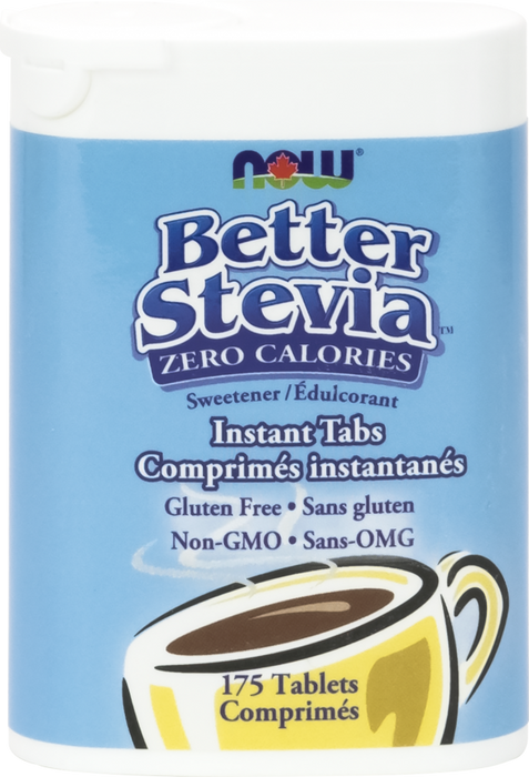NOW Better Stevia 175 Instant Tabs