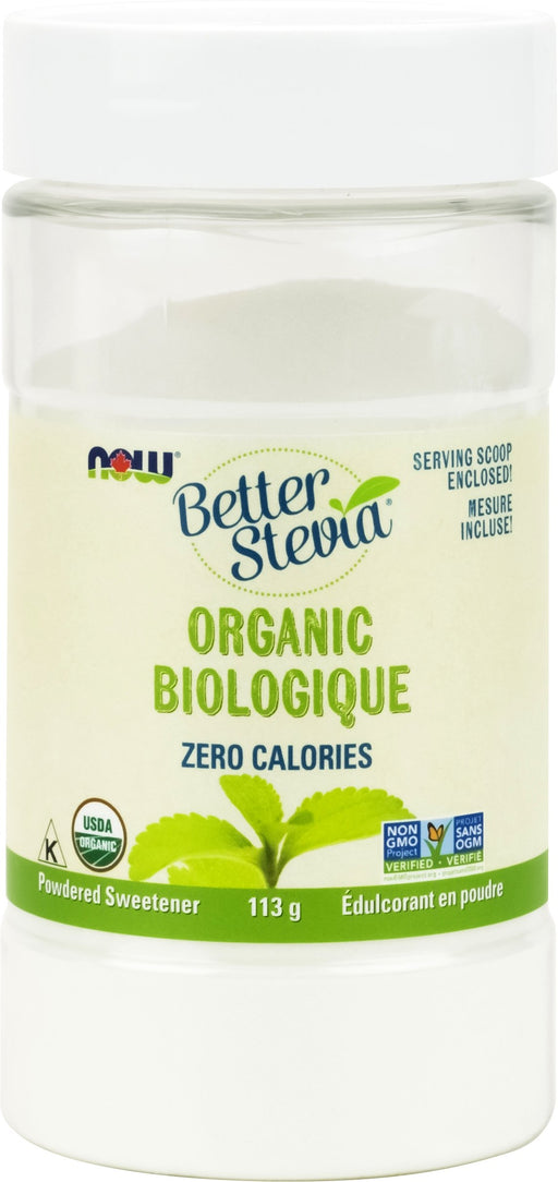 NOW Better Stevia Certified Organic Extract Powder