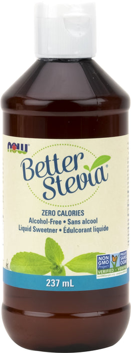 NOW Stevia Glycerite Alcohol Free