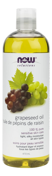 NOW 100% Pure Grape Seed Oil