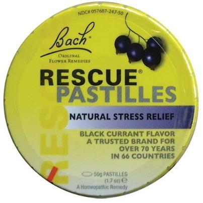 Bach Rescue Pastilles Black Currant 50 g