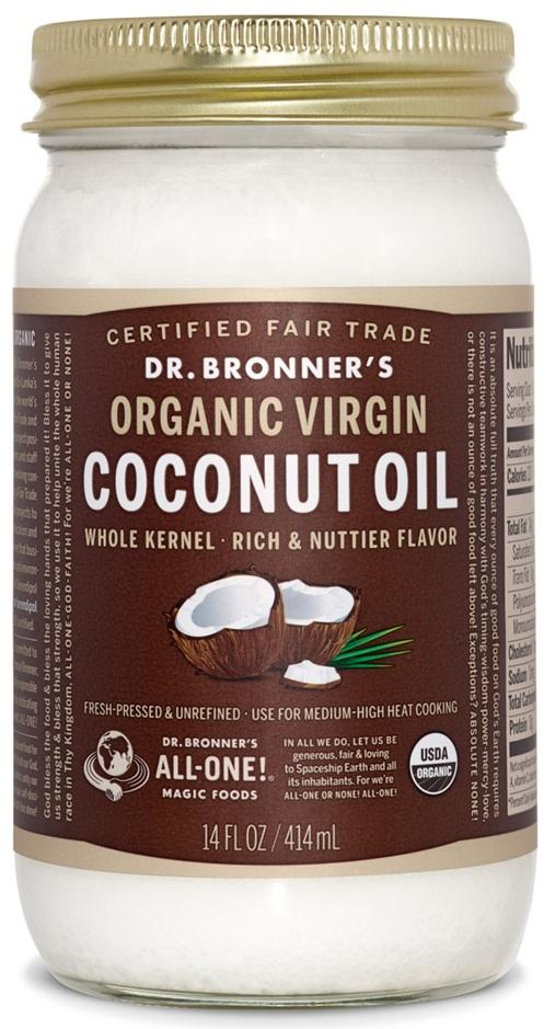 Dr. Bronner's Whole Kernal Virgin Coconut Oil