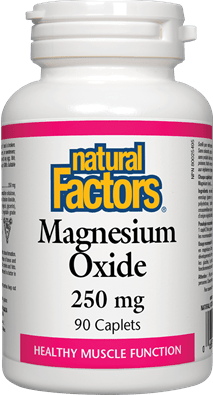 Natural Factors Magnesium Oxide 250 mg 90 Capsules