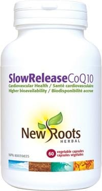 New Roots Slow Release CoQ10