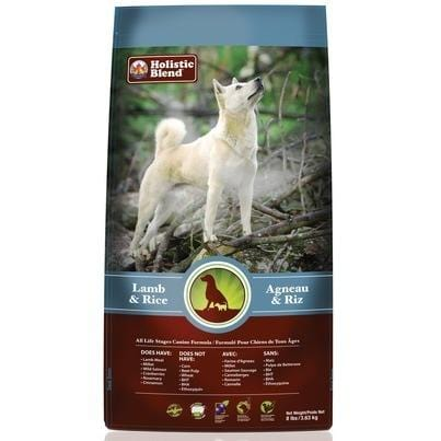 Holistic Blend Lamb & Rice Dog Food 3.6 kg