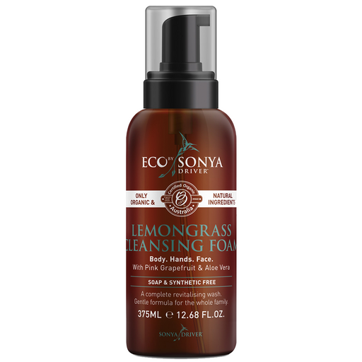 Eco By Sonya Driver Lemongrass Cleansing Foam 375ml
