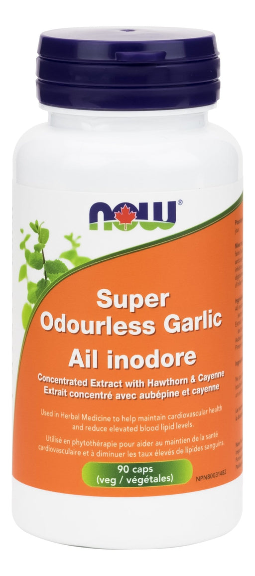 NOW Super Odourless Garlic