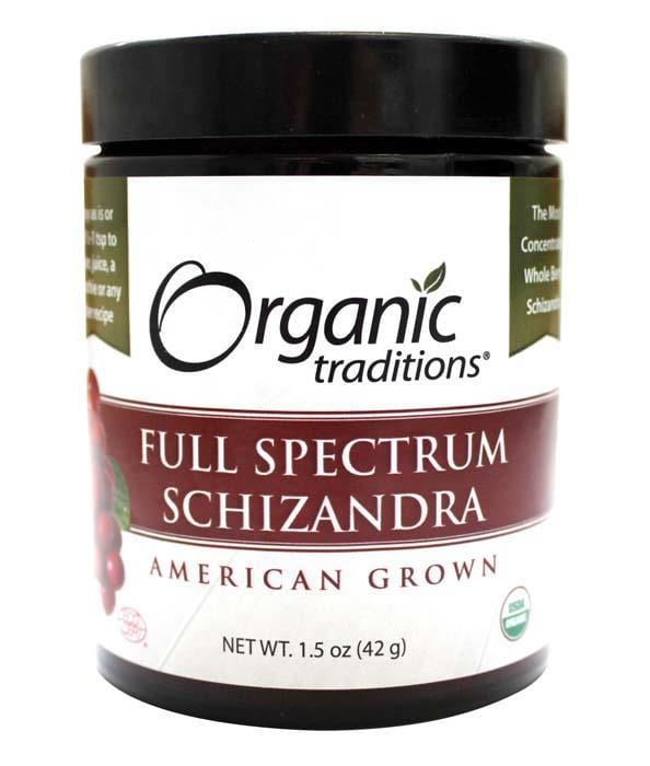 Organic Traditions Full Spectrum Schizandra