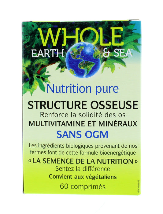 Whole Earth and Sea Pure Food Bone Structure
