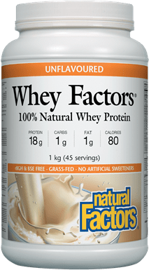 Natural Factors Whey Factors - Unflavoured