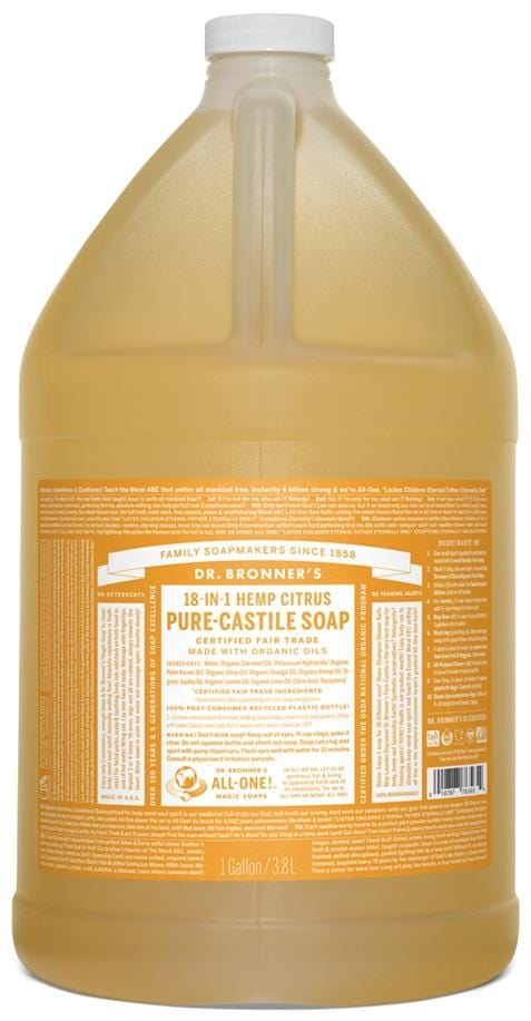 Dr. Bronner's Citrus Liquid Soap
