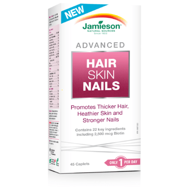 Jamieson Advanced Hair Skin Nails 45 Caplets