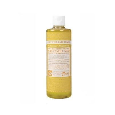 Dr. Bronner's Magic Soap Org Citrus Orange Oil Castile Soap