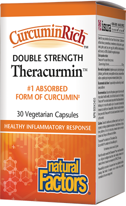 Natural Factors Double Strength CurcuminRich Theracurmin