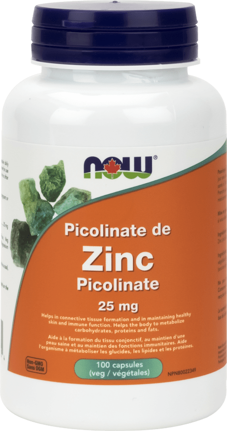 NOW Zinc Picolinate 25mg