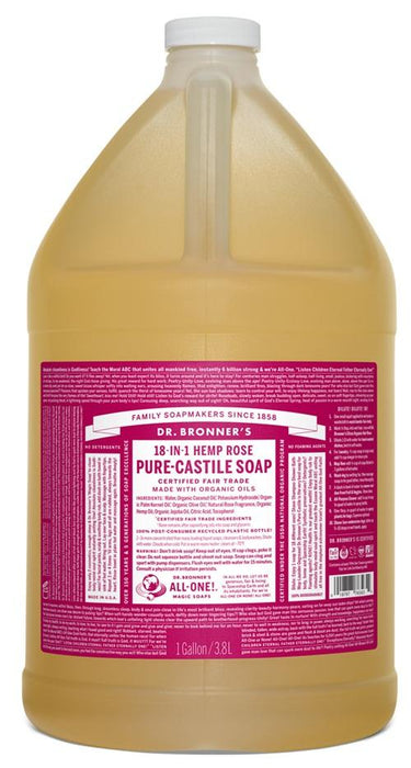 Dr. Bronner's Rose Liquid Soap