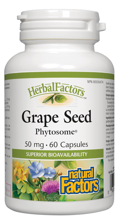 Natural Factors Grape Seed Phytosome