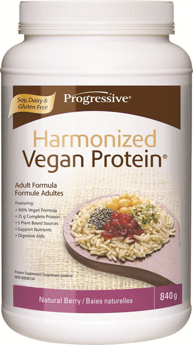 Progressive Harmonized Vegan Protein - Natural Berry