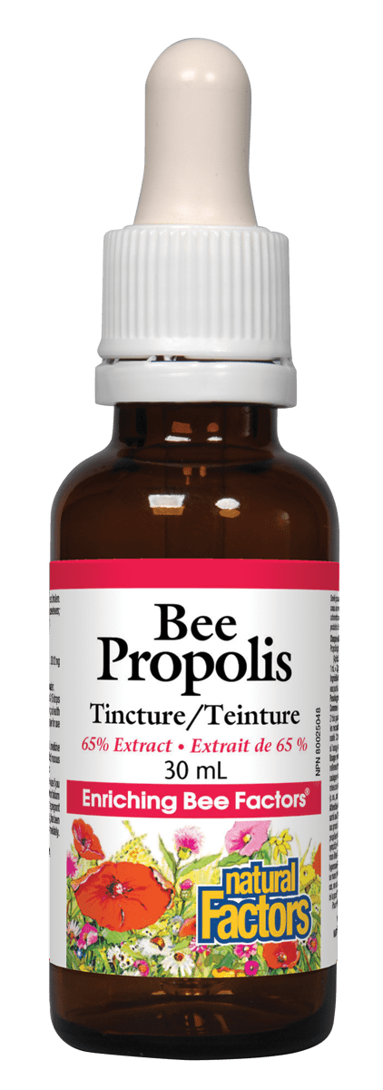 Natural Factors Bee Propolis Tincture 65% Extract 30 ml