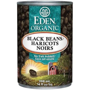 Eden Foods Organic Canned Black Beans 398 ml