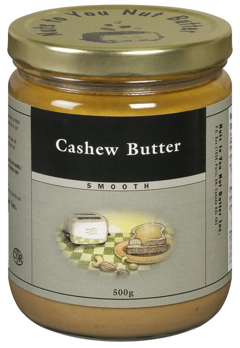 Nuts to You Nut Butter Cashew Butter - Smooth