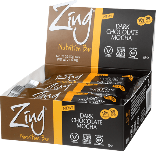 Zing Nutrition Bar - Dark Chocolate Mocha