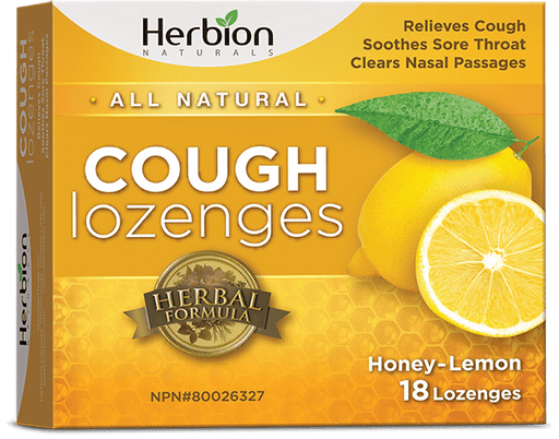 Herbion Naturals Cough Lozenges Honey-Lemon