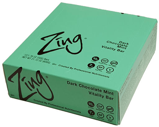 Zing Nutrition Bar - Dark Chocolate Mint
